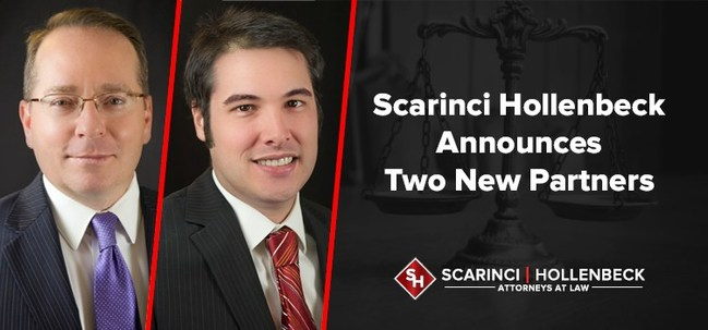 Scarinci Hollenbeck attorneys Daniel T. McKillop, Chair of the firm's Cannabis Law group and Jeffrey R. Pittard, Section Chief of the firm's Tax, Trusts & Estates group, have been elevated to Partner.