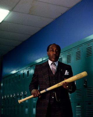 Joe Clark, former principal of Eastside High School in Paterson, New Jersey, poses for a photo in the school hallways in February of 1988. (Photo by Joe McNally/Getty Images)