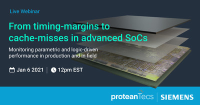 proteanTecs and Siemens to host live webinar on deep data performance monitoring