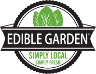 Edible Garden® Ag, Inc., is a privately held, leader in locally grown organic produce and herbs backed by Zero-Waste Inspired® next generation farms. Edible Garden is leading the agriculture technology movement with its safety-in-farming protocols, sustainable packaging and patented self-watering in-store displays. The company currently operates state-of-the-art greenhouse and processing facilities in Belvidere, New Jersey, and in partnership with growers throughout the U.S. (PRNewsfoto/Edible Garden)