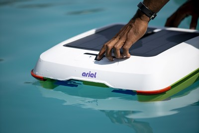 Using Ariel is as simple as placing her the pool, turning her on, and walking away as you let the sun clean your pool!