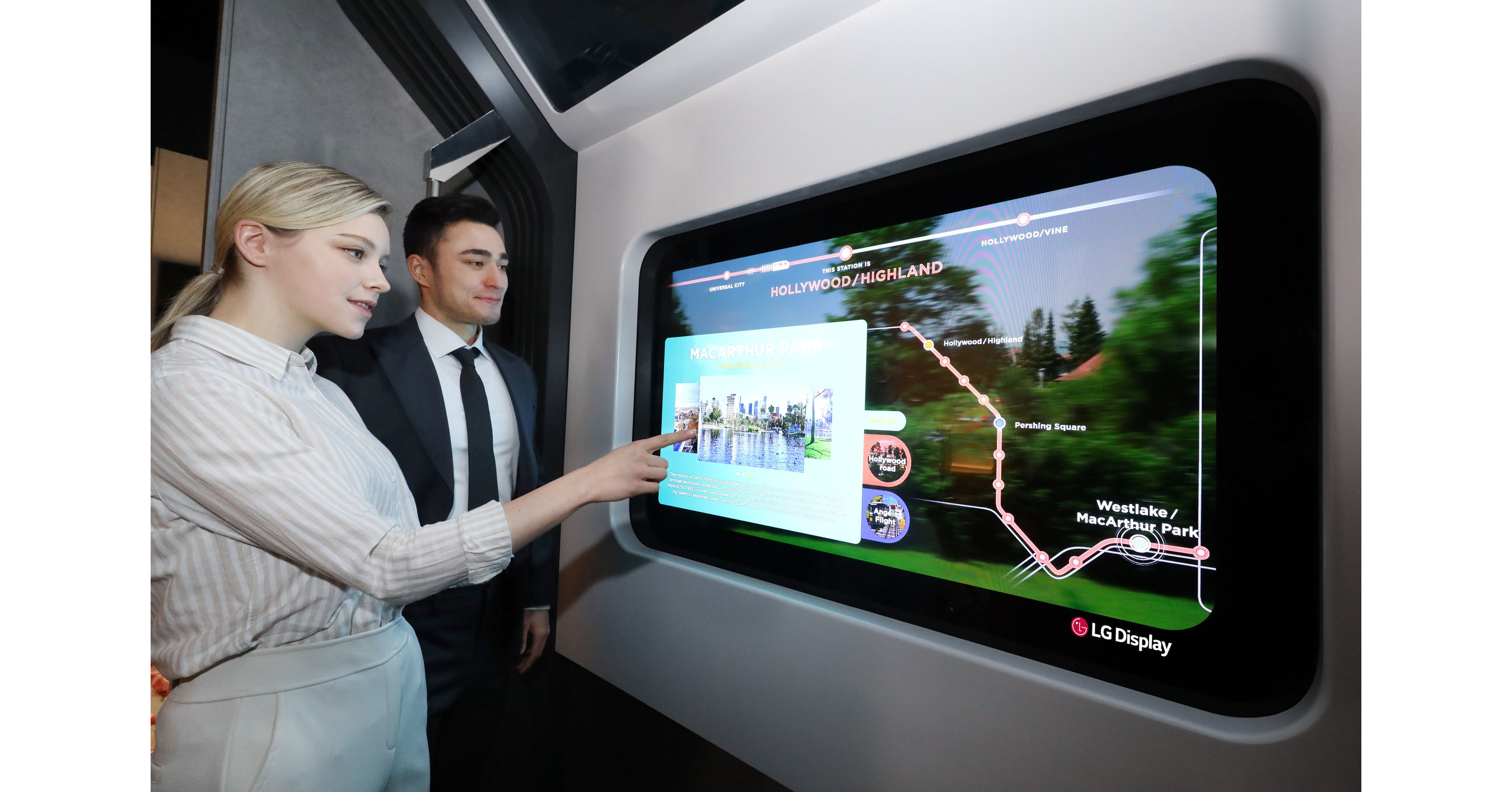 LG Display to showcase lifestyle of future with Transparent OLED at CES 2021
