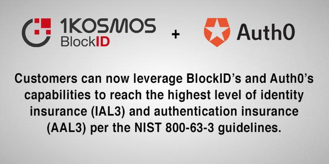 BlockID + Auth0: NIST IAL3 and AAL3