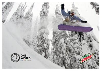 Pro snowboarder Danny Davis riding the One World Backseat Driver.