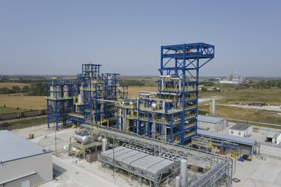 Olive Creek 1 (OC1) in Hallam, Nebraska, is Monolith Materials' first commercial-scale emissions-free production facility. It operates on 100% renewable power.