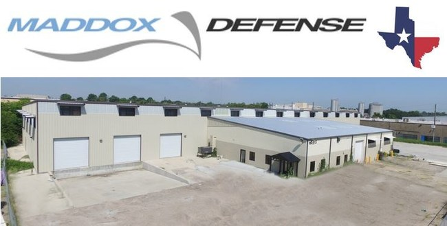 Maddox Defense's new headquarters in Houston, Texas.
