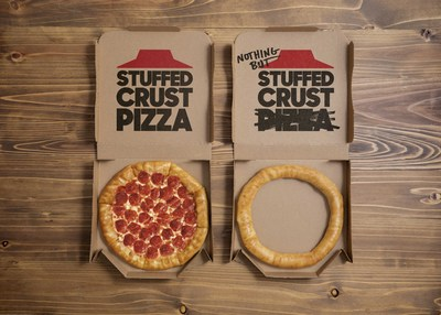 Pizza Hut is celebrating 25 years of its iconic Original Stuffed Crust® pizza by serving up an unbeatable deal – a Large 3-Topping Stuffed Crust pizza for JUST $11.99 – and unveiling a limited-edition product, Nothing But Stuffed Crust, in honor of the legendary crust itself.