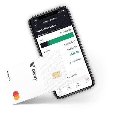 The Divvy Mobile App and Card