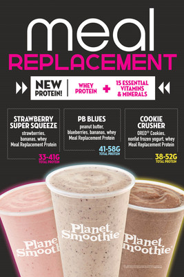 Planet Smoothie Introduces Three New Smoothies with Meal Replacement Protein WeeklyReviewer