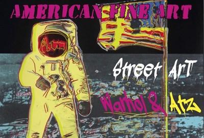 Street Meets Pop at American Fine Art