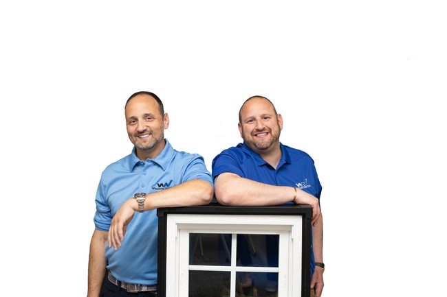 Window Nation co-founders and brothers, Harley and Aaron Magden