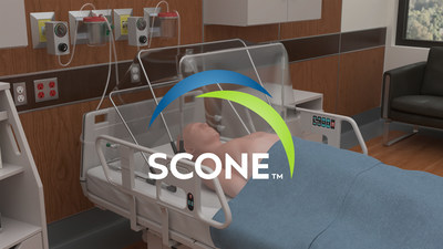 The Self-Contained Negative Pressure Environment (SCONE™) is a single-patient-use, disposable, patient isolation unit that reduces the risk of airborne disease transmission to healthcare workers and other patients in hospital settings.