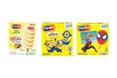 Unilever Brings Joy to Ice Cream Fans Everywhere with Introduction of 25 New Frozen Treats for 2021 – Fan-favorites Breyers®, Good Humor®, Klondike®, Magnum ice cream®, Popsicle® and Talenti® Gelato & Sorbetto stock ice cream aisles nationwide with cool new offerings. (PRNewsfoto/Unilever)