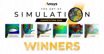 Ansys announces winners of its inaugural Art of Simulation competition.