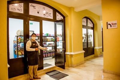 Staff at Casa Dorada welcoming clients