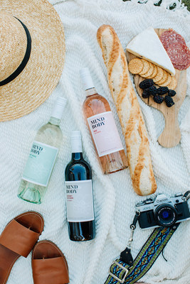 Pinot Grigio, Cabernet Sauvignon and Rosé from Mind & Body Wines