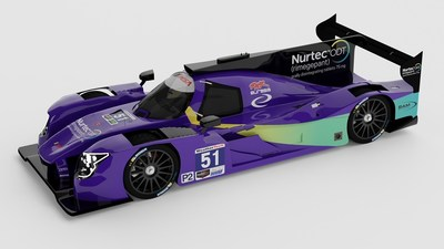 Nurtec ODT #51 Ligier LMP2 Car for 2021 24 Hours of Daytona