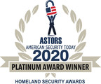 Canon U.S.A., Inc., is Honored with Two 2020 'ASTORS' Homeland Security Awards
