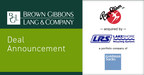 BGL Announces the Sale of Roy Strom Family of Companies to Lakeshore Recycling Systems LLC