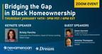 New American Funding Hosting Unique Event: Bridging the Gap in Black Homeownership