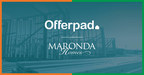 Maronda Homes First Homebuilder to Offer Offerpad's Full Suite of Services to Home Buyers
