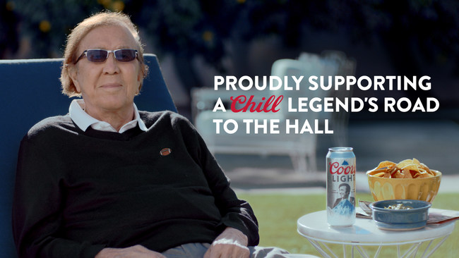 Coors Light honors Tom Flores with a limited-edition can featuring Flores' picture