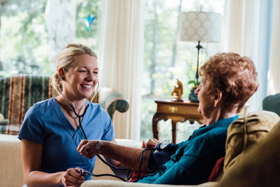 Female clinicians represent a majority of the workforce in regard to providers of in-home healthcare services.