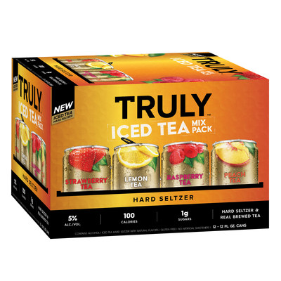 Truly Iced Tea variety 12 pack.