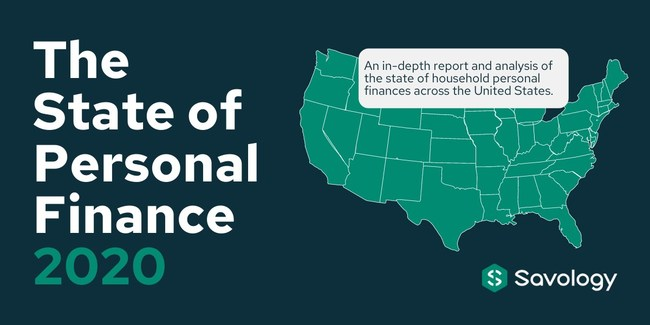 Savology's The State of Personal Finance 2020 examines the complete spectrum of personal finances across households in the United States.