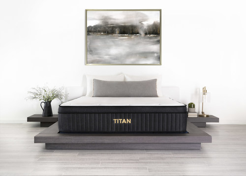 The new Titan Luxe Hybrid by Brooklyn Bedding delivers all the substantial support and durability of its predecessor, the Titan Firm Hybrid, with the benefit of enhanced contouring in a medium-level sleep experience. The result is a sleep solution that meets the needs of both plus-size sleepers and their partners.