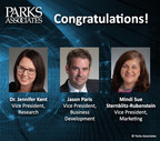Parks Associates Celebrates 35th Year and Announces Promotion of Key Personnel