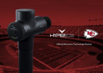 Hyperice Hypervolt Plus x Kansas City Chiefs