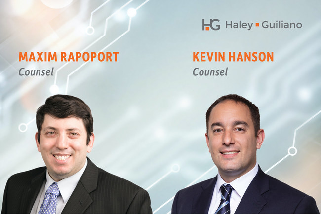 Maxim Rapoport and Kevin Hanson - Counsel