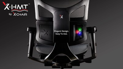The X-HMT Heat and Massage Chair by X-Chair revolutionizes work seating by providing the world's first office chair with both heat and massage technology targeted at the body's core.