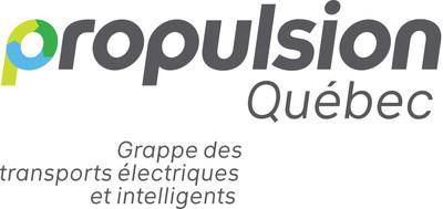 Logo : Propulsion Québec (Groupe CNW/Propulsion Québec)