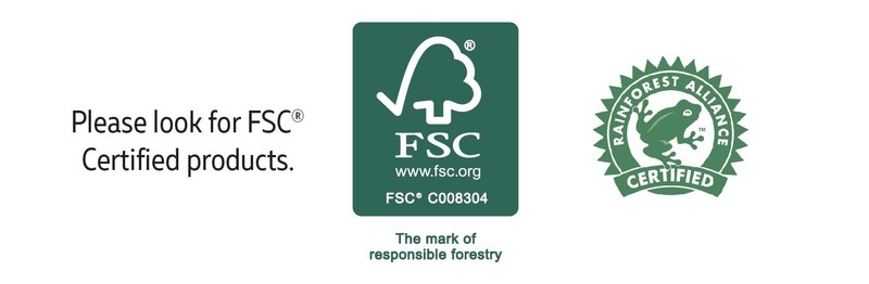 FSC and Rainforest Alliance Certifications for the 00L - Earth Guitar from C.F. Martin & Co.