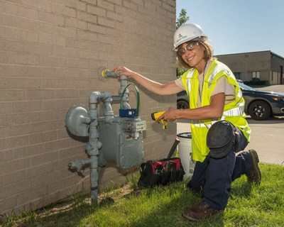 More than 2.2 million natural gas meters have been upgraded as part of Nicor Gas' Meter Modernization program.