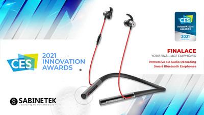SabineTek Wins CES 2021 Innovation Award