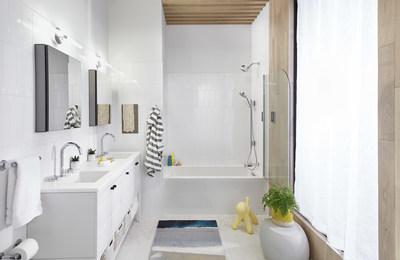 A Kohler apresenta várias inovações de casa inteligente para a cozinha e o banheiro na CES 2021. (PRNewsfoto/Kohler Co.)