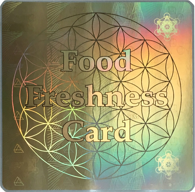 The Award Winning Food Freshness Card