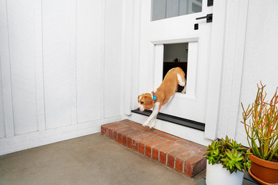 myQ Pet Portal provides the modern-day convenience of connected smart home access made just for four legged friends.