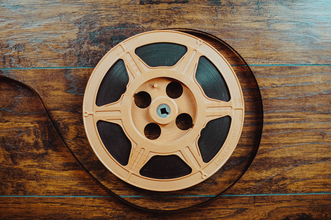 Dusty Attic Digitizing provides conversion services for multiple types of obsolete, analog media. Pictured is a 16mm Film Reel. Dusty Attic provides Video Tape Conversion, Audio Conversion and Film Conversion Services.