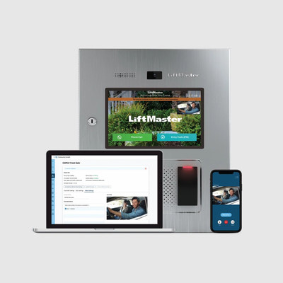 LiftMaster Access Control Systems powered by myQ provide customizable applications that streamline the management of buildings, residents and community access points.