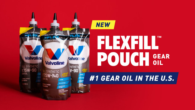 Valvoline™ launches new FlexFill™ packaging innovation.
