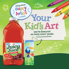 Juicy Juice Launches Nationwide 'Happy Artist' Contest to Encourage Creativity in Kids