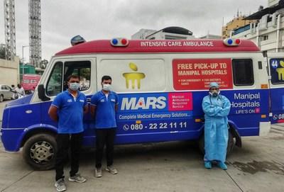 Manipal Ambulance Response Service (MARS) (PRNewsfoto/Manipal Hospitals)