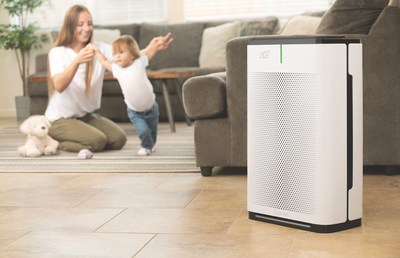 Brondell Pro Sanitizing Air Purifier with AG+™ Technology has been independently tested and certified to capture and eliminate ≥99.9% of airborne COVID-19 virus, flu and other viruses within 15 minutes