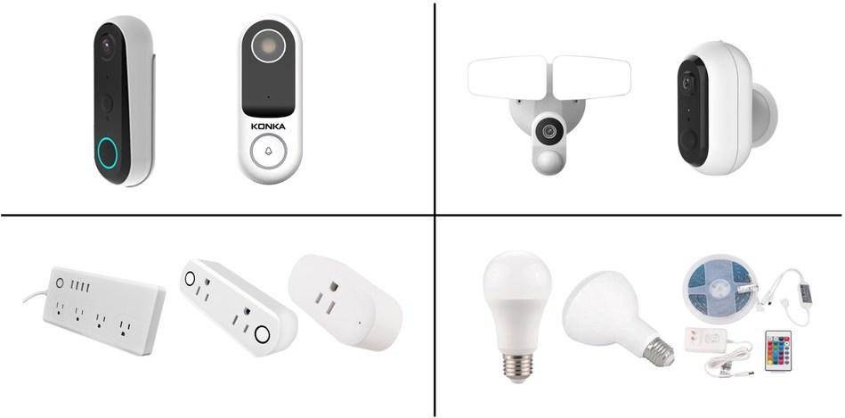 KONKA Smart Home Products Digital CES 2021