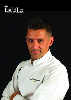 Escoffier Appoints Certified Master Pastry Chef® Frank Vollkommer As Institution's Director Of Culinary Industry Development