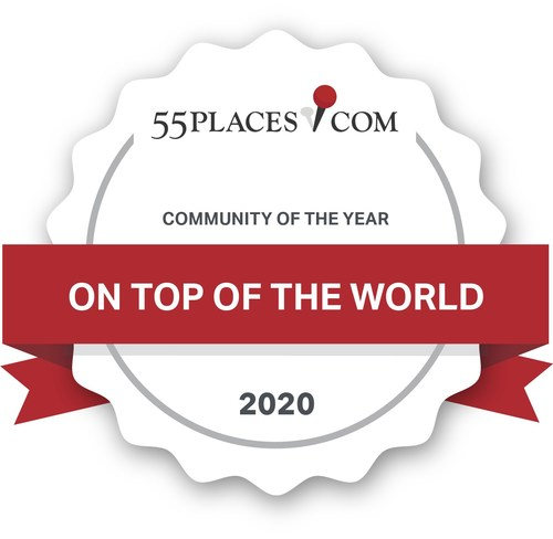 Florida-Based On Top of the World is Named Best Community of the Year by 55places.com